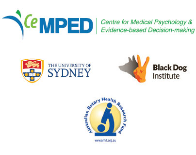 Partners: CeMPED, University of Sydney, Black Dog Institute, Australian Rotary Health Research Fund